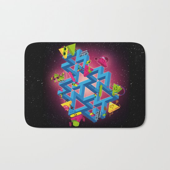 The impossible playground Bath Mat