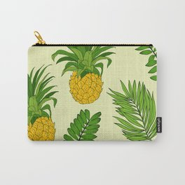 Pineapple Upside Down Party Pattern Carry-All Pouch