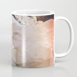 Dreamy Large Quartz Crystals Coffee Mug