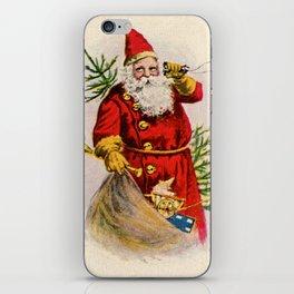 Old World Santa iPhone Skin