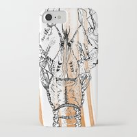 lobster iPhone & iPod Cases featuring Lobster by HBDesign