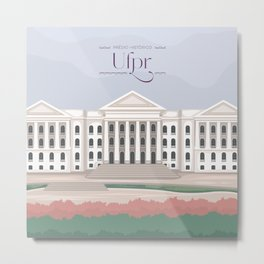 Curitiba - UFPR Metal Print