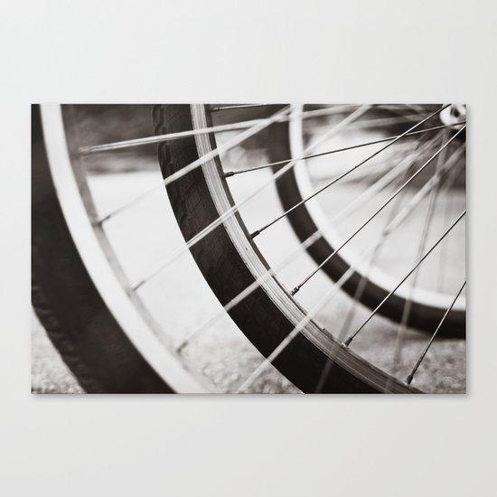 Let's Ride Canvas Print
