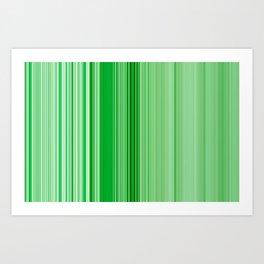 green friday Art Print