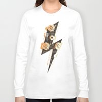 nicki Long Sleeve T-shirts featuring Dj's Lightning by Sitchko Igor