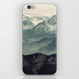 Mountain Fog iPhone Skin