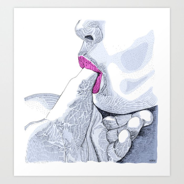 Discover the motif LOVE FOR SALE by Suzie-Q as a print at TOPPOSTER