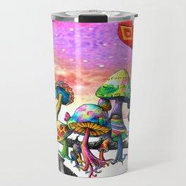 Mushroom Paradise Travel Mug