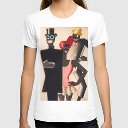Josephine Baker and the Blackbirds 1922  Folies Bergère in Paris by Paul Colin T-shirt