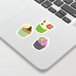 Fruity Cupcake Sticker Pack Sticker