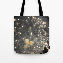 Marina Fireworks 2018 view 4 Tote Bag
