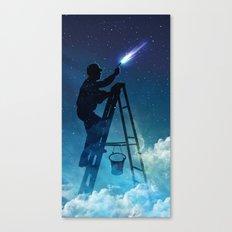 Star Builder Canvas Print