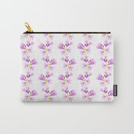 Surprise Lily Pattern Carry-All Pouch