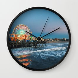 Wheel of Fortune - Santa Monica, California Wall Clock
