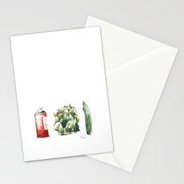 SPRAYWALDGURKE/ SPREEWALD GHERKINS Stationery Cards