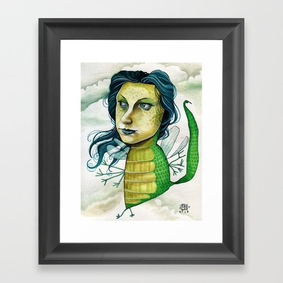 LOVELY CREATURE Framed Art Print