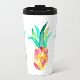 Modern Pineapple Travel Mug