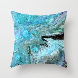 Sea of Jellies Throw Pillow
