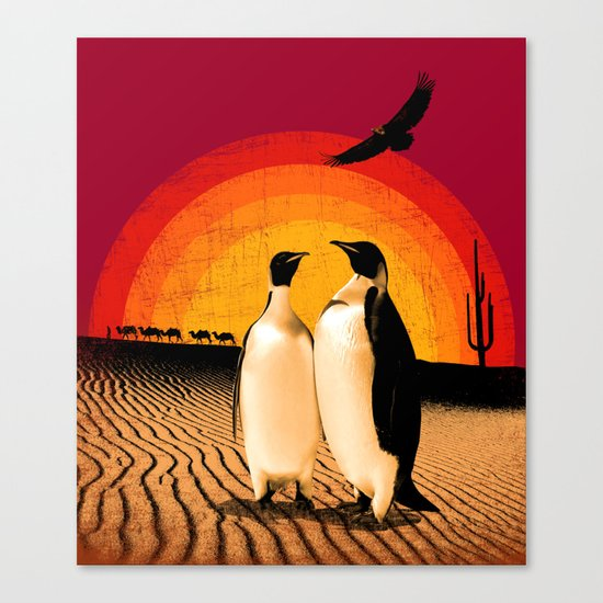 Together Everywhere Canvas Print