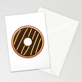 Delightful Choco Cheezy Doughnut / Donut Stationery Cards