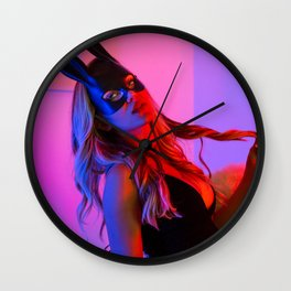 Hannah Bunny, Red Wall Clock