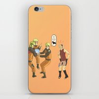 naruto iPhone & iPod Skins featuring Naruto Science by Solidus