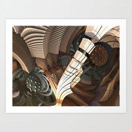 Azium abstration Art Print