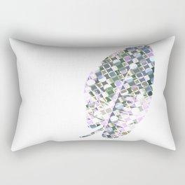 Scandinavian Leaf Rectangular Pillow