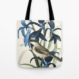 Little Bird and Flowers II Tote Bag