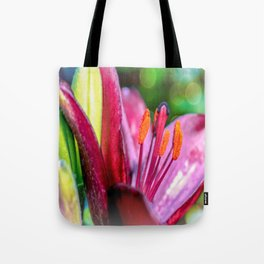 Blooming Tulip Tote Bag
