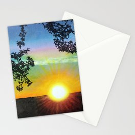Sunset over the Grand Canyon Stationery Cards