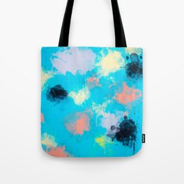 Abstract Paint splatter design Tote Bag