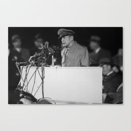 General MacArthur - Soldier Field - 1951 Canvas Print
