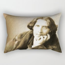 Oscar Wilde Rectangular Pillow