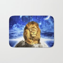 Grumpy Lion Bath Mat