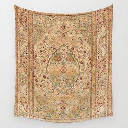 Silk Tabriz Azerbaijan Northwest Persian Rug Print Wall Tapestry