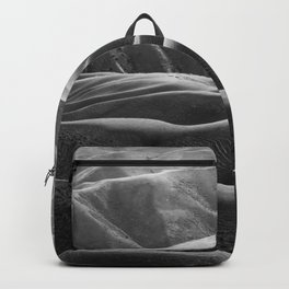 Endless Valleys (Black and White) Backpack