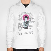 princess bride Hoodies featuring Bride by Matt Fontaine