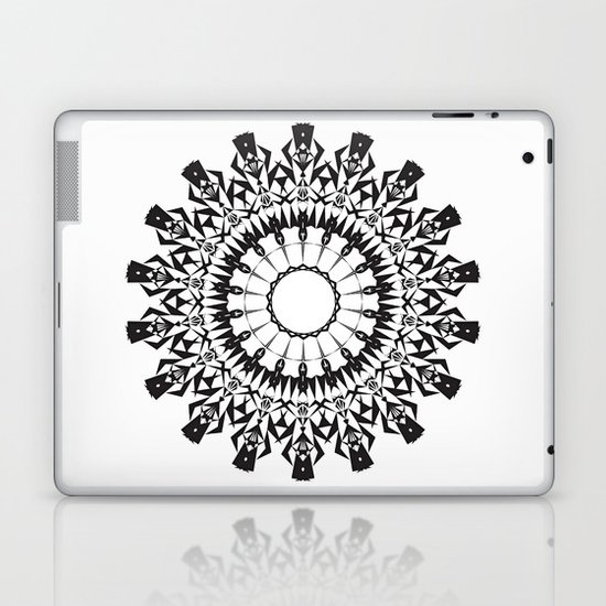 No Way Black Laptop & iPad Skin