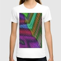 knit T-shirts featuring Knit by RingWaveArt