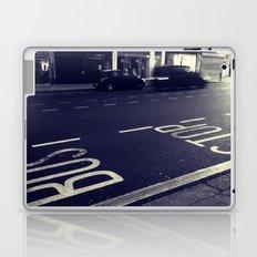 Bus Stop bw Laptop & iPad Skin