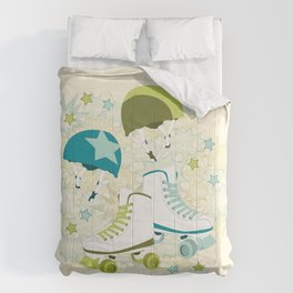 Roller Derby Rumble Comforters