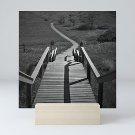 Coulee Stairs Mini Art Print
