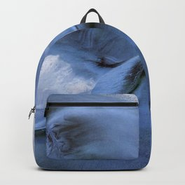 blue / abstract / sand Backpack