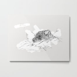 tilly Metal Print