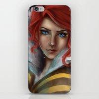 transistor iPhone & iPod Skins featuring Transistor - Tears by selvaritan