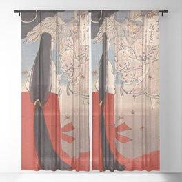 12,000pixel-500dpi - Tsukioka Yoshitoshi - Top Quality Art - IGANOTUBONE Sheer Curtain