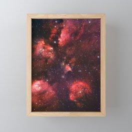 The Cat's Paw Nebula Framed Mini Art Print