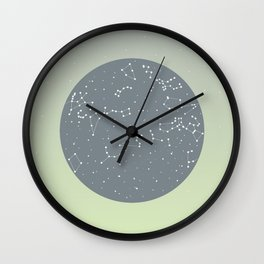 April Wall Clock