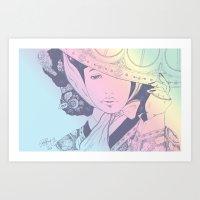 GISENG #1 v.2 Art Print